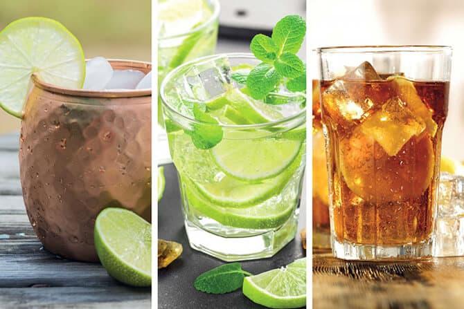 Erfrischend gesunde Drinks