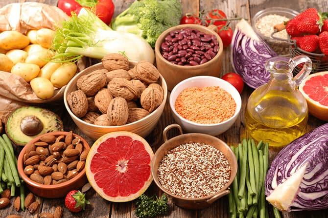 Abwehrkräfte und Ernährung
