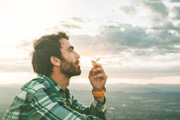 Rauchen: Mund und Rachen